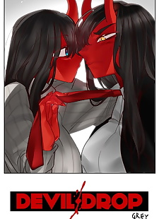 英语漫画 魔鬼 放下 第一章 11, full color  webtoon
