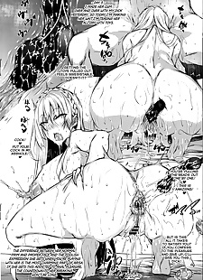 英语漫画 牛奶 mamire melonbooks tokuten =white.., anal , big breasts