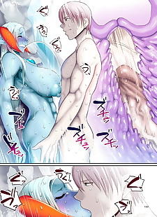 英语漫画 reizoku 魔王 尾声, big breasts , ahegao