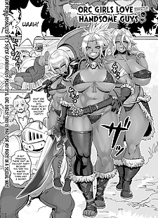 english manga Orc Musume wa Ikemen ga Osuki, anal , big breasts  gyaru