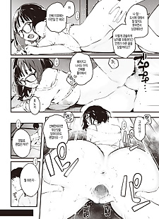 韩国漫画 joukyou 安少女组, big breasts , glasses  ahegao